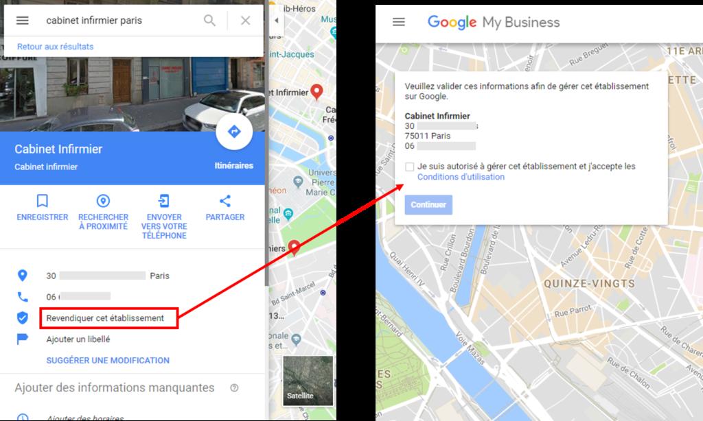 Revendiquer votre fiche d'établissement Google MyBusiness