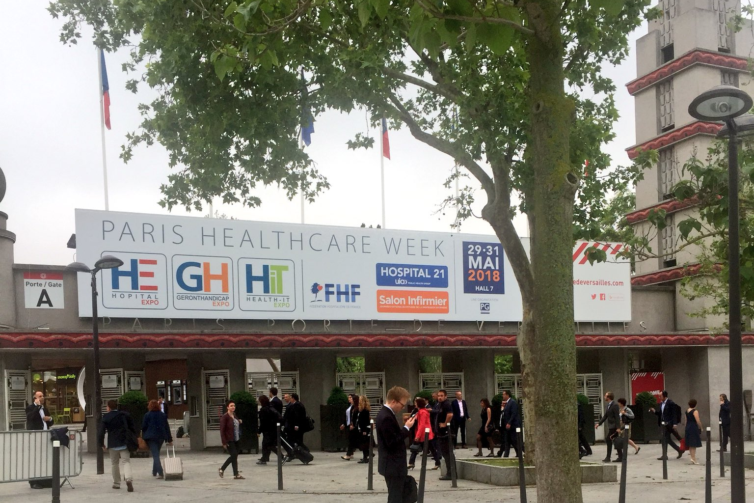L'équipe libheros à la Paris Healthcare Week !