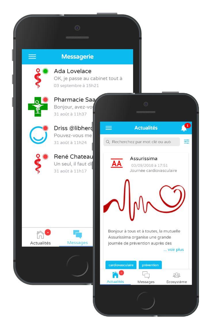 réseaux de professionnels de santé